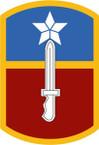 STICKER US ARMY UNIT 205th Infantry Brigade SHIELD