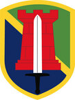 STICKER US ARMY UNIT 204th Maneuver Enhancement Brigade SHIELD