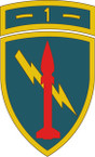 STICKER US ARMY UNIT 1st US Army Missile Command SHIELD