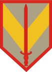 STICKER US ARMY UNIT 1st Sustainment Brigade SHIELD