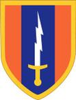 STICKER US ARMY UNIT 1st Signal Brigade SHIELD
