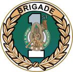 STICKER US ARMY UNIT 1st Recruiting Brigade - Detail