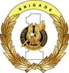 STICKER US ARMY UNIT 1st Recruiting Brigade
