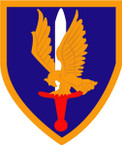 STICKER US ARMY UNIT 1st Aviation Brigade SHIELD