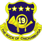 STICKER US ARMY UNIT 19th Infantry Regiment