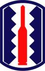 STICKER US ARMY UNIT 197th Infantry Brigade SHIELD