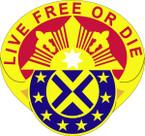 STICKER US ARMY UNIT 197th Fires Brigade