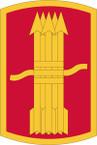 STICKER US ARMY UNIT 197th Fires Brigade Shield