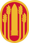STICKER US ARMY UNIT 196th Maneuver Enhancement Brigades SHIELD