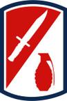 STICKER US ARMY UNIT 192 Infantry Brigade SHIELD
