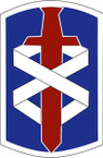 STICKER US ARMY UNIT 18th Medical Command SHIELD