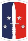 STICKER US ARMY UNIT 189th Infantry Brigade SHIELD