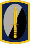 STICKER US ARMY UNIT 188th Infantry Brigade SHIELD