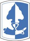 STICKER US ARMY UNIT 187th Infantry Brigade SHIELD