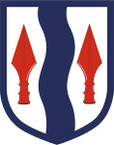 STICKER US ARMY UNIT 181st Infantry Brigade SHIELD