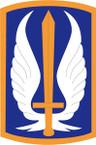 STICKER US ARMY UNIT 17th Aviation Brigade SHIELD
