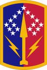 STICKER US ARMY UNIT 174th Air Defense Artillery Brigade SHIELD