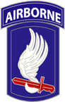 STICKER US ARMY UNIT 173rd Airborne Brigade 1