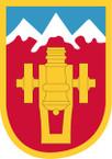 STICKER US ARMY UNIT 169th Fires Brigade  Shield SHIELD