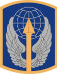 STICKER US ARMY UNIT 166th Aviation Brigade SHIELD