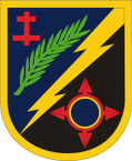 STICKER US ARMY UNIT 162 Infantry Brigade SHIELD
