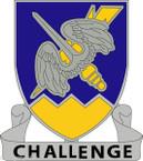 STICKER US ARMY UNIT 158th Aviation RegimentII