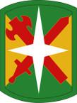 STICKER US ARMY UNIT 14th Military Police Brigade SHIELD