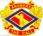 STICKER US ARMY UNIT 142nd Field Artillery Brigade