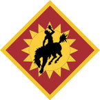STICKER US ARMY UNIT 115th Field Artillery Brigade SHIELD