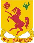 STICKER US ARMY UNIT 113TH CAVALRY REGIMENT