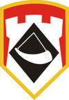 STICKER US ARMY UNIT 111th Engineer Brigade SHIELD