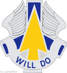 STICKER US ARMY UNIT 110th Aviation Brigade