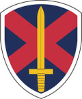 STICKER US ARMY UNIT 10th Personnel Command SHIELD