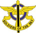 STICKER US ARMY UNIT 10th Aviation Regiment