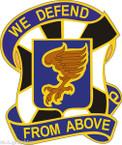 STICKER US ARMY UNIT 108th Aviation Regiment