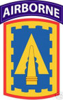 STICKER US ARMY UNIT 108th Air Defernse Artillery TAB