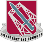 STICKER US ARMY UNIT 1030th Transportation Battalion CREST