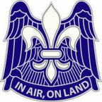 STICKER US ARMY UNIT 101st Airborne Division DUI