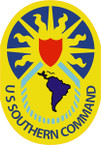 STICKER US ARMY UNIT  US Southern Command