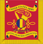 STICKER US ARMY UNIT  United States Army Training and Doctrine Command Band