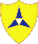 STICKER US ARMY UNIT  III Corps CREST