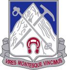 STICKER US ARMY UNIT  87th Infantry Regiment