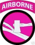 STICKER US ARMY UNIT  84th Infantry Air TAB COL