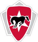 STICKER US ARMY UNIT  6th Cavalry Brigade