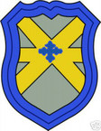 STICKER US ARMY UNIT  62nd Cavalry Div. SHIELD COL