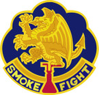 STICKER US ARMY UNIT  490TH Chemical Battalion
