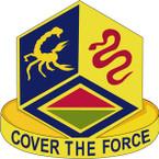 STICKER US ARMY UNIT  460TH Chemical Brigade