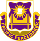 STICKER US ARMY UNIT  445th Civil Affairs Battalion