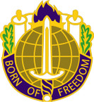 STICKER US ARMY UNIT  351st Civil Affairs Command Crest
