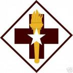 STICKER US ARMY UNIT  32nd Medical Brigade COL